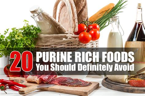 purine rich foods    avoid