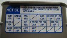 2003 Tacoma Fuse Panel Diagram : toyota 4runner tacoma and tundra how to replace dome ~ A.2002-acura-tl-radio.info Haus und Dekorationen