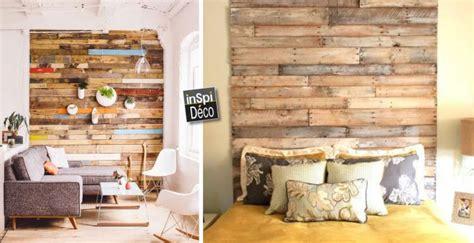 recouvrir meuble de cuisine couvrir un mur en bois de palettes regardez le résultat