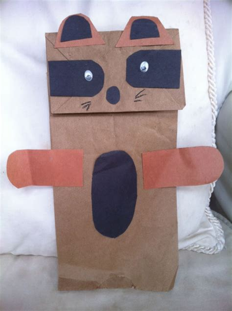 robertas homemade holiday raccoon puppet wkn webkinz newz