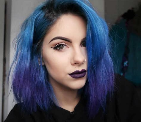 Blue And Hairstyles by 21 Blue Hair Ideas That You Ll Page 3 Of 21
