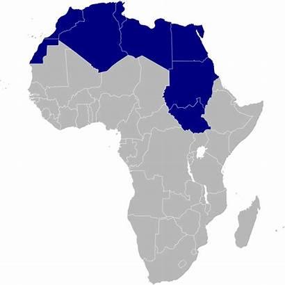 Africa North Nord Northern Svg Afrique Du