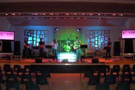 church stage design  joshs head