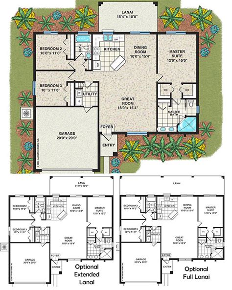 three bedroom houses the islip home plan 3 bedroom 2 bath 1 car garage