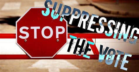 stop voter suppression common dreams views