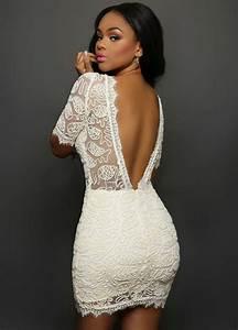 Chique witte jurk
