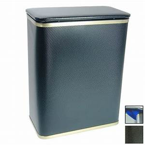 Shop Redmon Mixed Materials Clothes Hamper at Lowes com