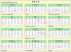 Kalender 2013 Printable 2018 calendar Free Download USA