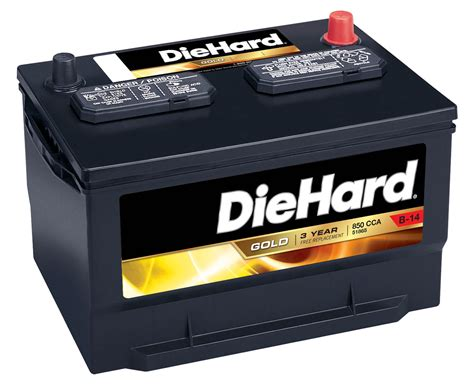 Diehard Gold Automotive Battery