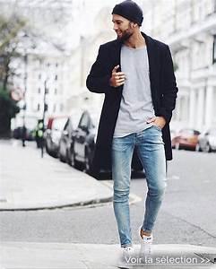 comment porter le jeans slim messieurs With couleur qui va bien avec le gris 1 le jean gris est tendance blog mode en france