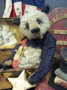 Vintage Panda Teddy Bear