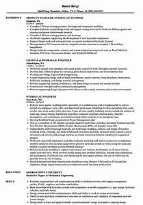 Civil Engineering Resume Example Engineer Hydraulic Resume Templatedose Com