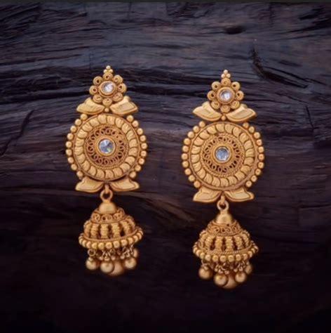 daily wear earrings design  gold simple craft ideas