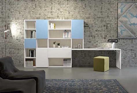 libreria con scrivania integrata libreria con scrittoio integrato start scrittoio clever
