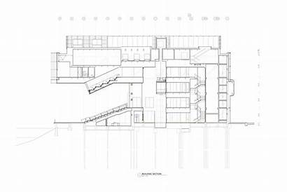 Diller Renfro Scofidio Contemporary Institute Drawings Archdaily
