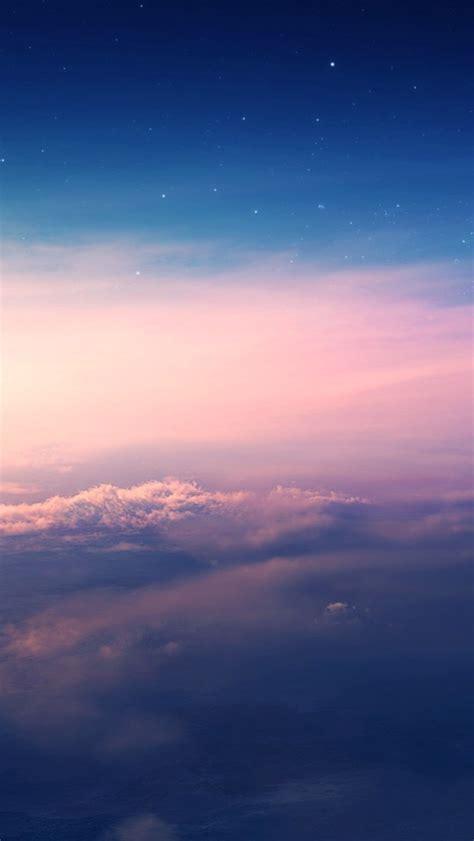 beautiful sky clouds sunset wallpaper iphone wallpaper