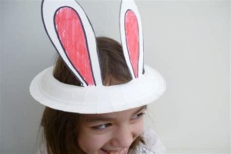 Easter Bonnet  Paper Plate Bunny Ear Hat Netmums