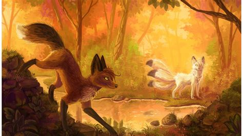 Anime Fox Wallpaper - anime fox wallpapers wallpaper cave