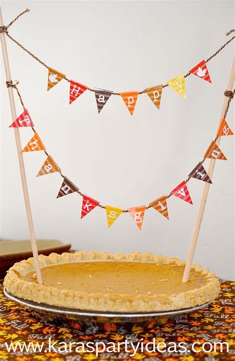 Kara's Party Ideas FREE Mini Cake Pennant Bunting for