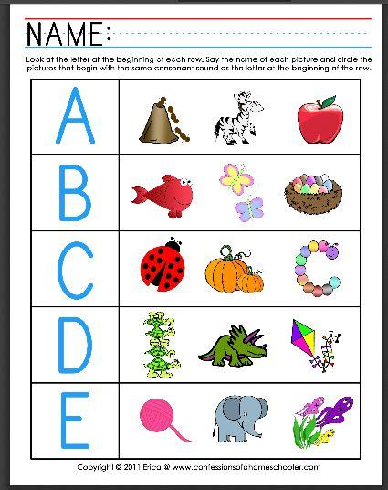pre k phonics worksheets free worksheets for all