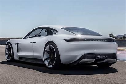 Taycan Porsche Interior Rear Parkers Dashboard Quarter