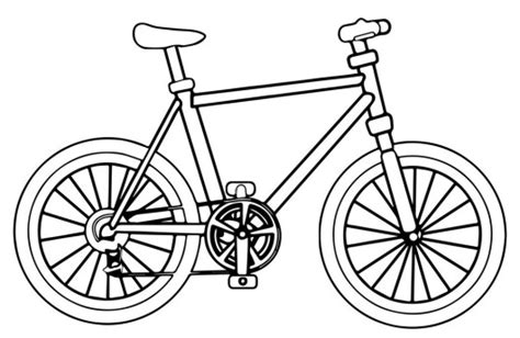 Bike Coloring Pages To Encourage Kids Learn To Ride