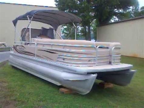 Used Pontoon Boats For Sale In Charlotte Nc by 2008 Parti Kraft Pontoon W 115hp Used Pontoon For Sale