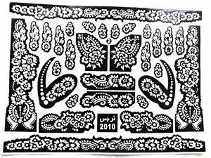 Henna Tattoo Schablonen : henna tattoo schablone zahraa ~ Frokenaadalensverden.com Haus und Dekorationen