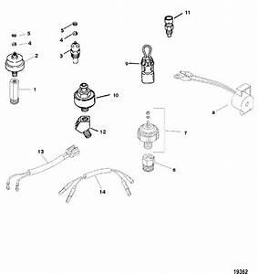 Mercruiser 350 Mag Mpi Horizon Mie Senders  U0026 Sensors Parts