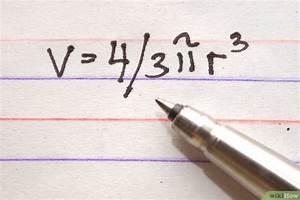 Kugel Berechnen Formel : das volumen einer kugel berechnen wikihow ~ Themetempest.com Abrechnung