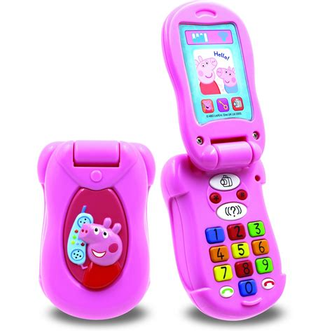 peppa pig flip  phone big