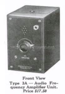 Audio Frequency Amplifier Unit Type Ampl Mixer Webster