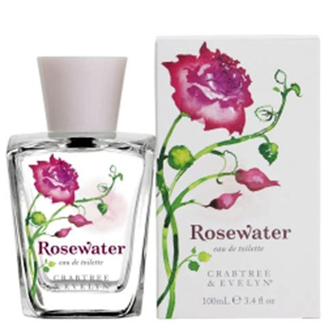 crabtree rosewater eau de toilette 100ml free delivery