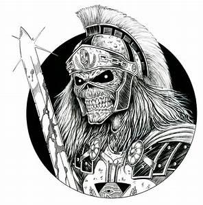 Roman Eddie Inked 1 by ~taplegion on deviantART   Maiden ...