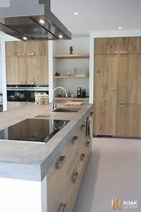 Arbeitsplatte Küche Verlängern : tolle k che mit holzfront und beton arbeitsplatte k che pinterest beton arbeitsplatten ~ Markanthonyermac.com Haus und Dekorationen