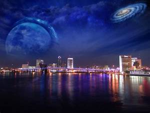 Windows 7 Night city images hd Wallpaper | High Quality ...