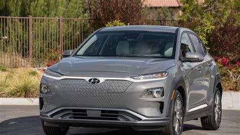 Us-market 2019 Hyundai Kona Electric Breaks Cover In New