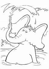 Seuss Coloring Dr Pages Fish Horton Fox Socks Fun Printable Characters Hat Ham Cat Eggs Hop Pop Children Sheets Suess sketch template