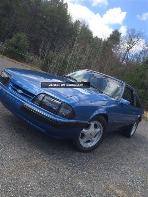 1988 Ford Mustang Lx Hatchback 2 Door 5 0l