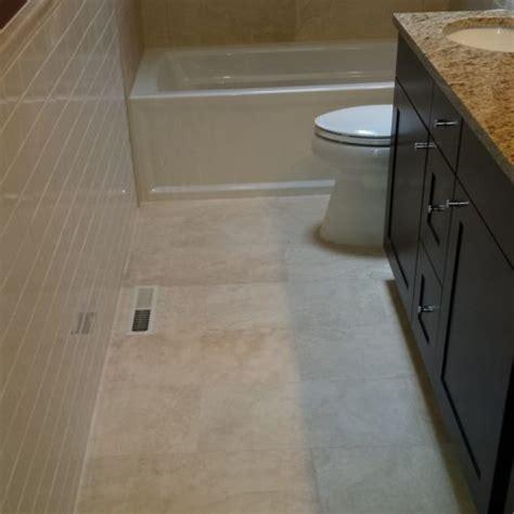 How To Lay Tiles In Bathroom by Bathroom Floor Tile Layout In 5 Easy Steps Diytileguy