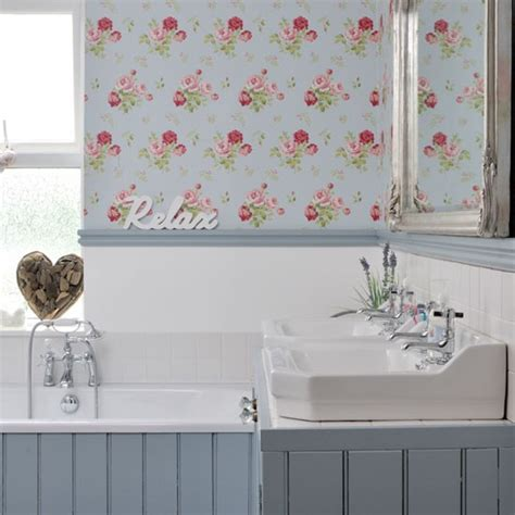 shabby chic bathroom ideas uk vintage house tour finishing touch interiors