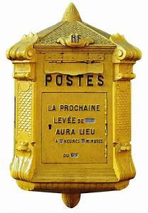 Stickers Boite Aux Lettres : autocollant sticker mural boite aux lettres la poste ~ Dailycaller-alerts.com Idées de Décoration