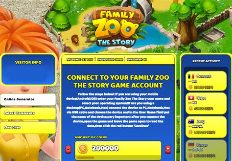 zoo story hack cheat coins generator unlimited characteristics