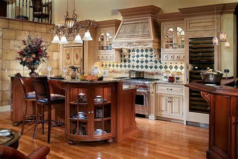 Dining Room And Living Room Combo, French Kitchen Design