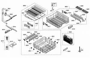 Rack Diagram  U0026 Parts List For Model Shx68t55uc07 Bosch