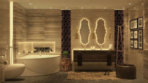 led indirekte beleuchtung fuer ein exklusives badezimmer