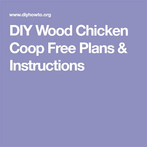 diy wood chicken coop  plans woodworking furniture