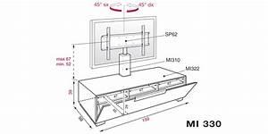 Meuble Tv En Hauteur : support mural tv quelle hauteur ~ Teatrodelosmanantiales.com Idées de Décoration