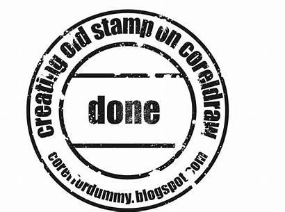 Stamp Coreldraw Draw Corel Effect Vector Creating