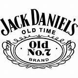Jack Label Blank Daniels Template Daniel Vector Douglasbaseball sketch template